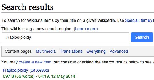 Haplodiploidy - Wikidata - Bidrag oversættelse